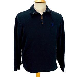 Polo Ralph Lauren Half Zip Sweater Black
